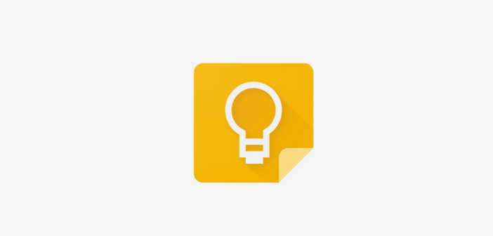 Google Keep on iOS