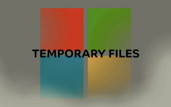 temporary files
